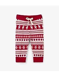 Hatley Hatley 针织打底裤、大胸和心形、雪的结晶 红色 F18HFI1354 红色 75~80cm、9M-12M(74-79cm)