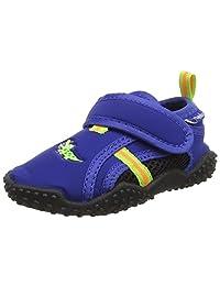Playshoes 女童防紫外线 水上鞋花