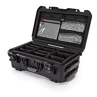 Nanuk 935 防水硬殼帶蓋收納盒和加墊隔層 - 黑色