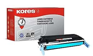 Kores 碳粉盒适用于型号 Color Laserjet 4600,4650系列,6000 页,蓝色