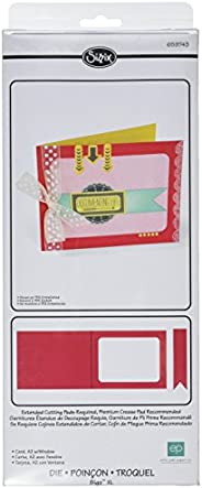 Sizzix Bigz 模具,卡片,A2 帶窗戶,Echo Park Paper Company