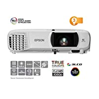 EPSON 爱普生 EH-TW650 全高清 3100 流明 Wi-Fi 家庭影院/游戏投影仪-白色