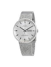 Mido Commander Icône - M0316311103100 analog Stainless Steel Mesh 银色 M0316311103100 watches
