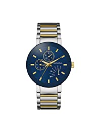 Bulova 宝路华 男士石英不锈钢正装手表,颜色:双色(型号:98C123),均码