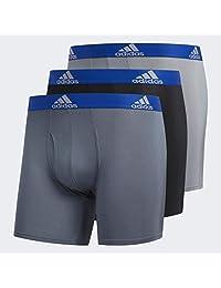 adidas 男士運動性能 Climalite 平角內褲(3 條裝)