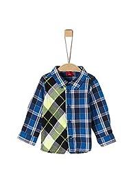 s.Oliver 青少年男婴卷边,Langarm 衬衫