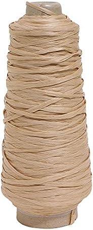 [Marchen Art] 马尼拉麻纱线 加工 中粗 Col.507 Straw 稻草色 200克 约500米