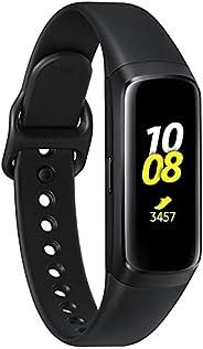 Samsung Galaxy Fit 2019,智能手表健身帶,壓力和*追蹤器,AMOLED 顯示屏,5ATM 防水,MIL-STD-810G,藍牙主動式 SM-R370 - 國際版(銀色)SM-R370  黑色