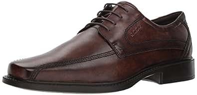ECCO 男式新泽西系带牛津鞋 可可棕(Cocoa Brown) 39 EU (US Men's 5-5.5 M)