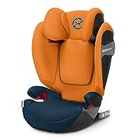 cybex Solution S-Fix 汽车座椅,Group 2/3,秋金 热带蓝