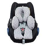 Janabebé Reducer 垫婴儿头部和婴儿身体支撑抗* White Star