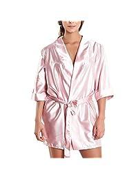 Besame 女式性感内衣蕾丝和服睡袍睡衣