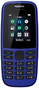 Nokia 105(2019 版)1.77-英寸 UK SIM 免費功能手機(單卡)– 藍色