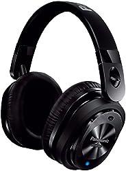 Panasonic 松下 带有麦克风/控制器RP-HC800-K的高级降噪立体声入耳式耳机(黑色)