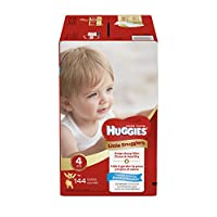 Huggies Little Snugglers Diapers - Size 4-144 ct
