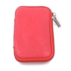 idea life 创意生活 YPBW-16 办公出差必备 2.5英寸笔记本移动硬盘包 防震 数码配件收纳整理包 红色