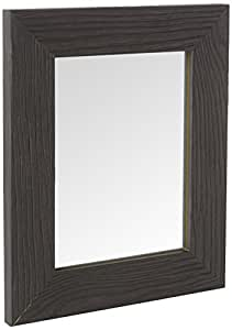 Inov8 镜框木纹黑檀木 8x6 1PK,棕色,20.32 x 15.24 x 2.54 厘米