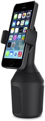适用于智能手机的 Belkin 车载杯架 - 黑色