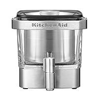 kitchenaid 5kcm4212sx COLD 冲泡咖啡壶0.84升银色