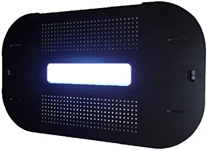 Pestwest Sunburst Tab Blanco 磨砂昆虫灭虫器,紫外线,黑色