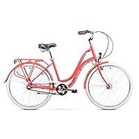 Romet POP ART 城市自行车 26 英寸 城市自行车 自行车 城市自行车 巡洋舰 荷兰自行车 Shimano 3 通道 19 英寸 铝