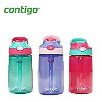 (跨境自营)(包税) Contigo 儿童水壶 14OZ(约400ml)-女款 三只装