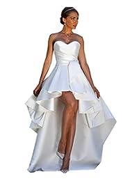 Modeldress 高低国家婚纱新娘露肩新娘礼服
