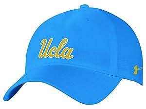 Under Armour NCAA 男士透气可调节帽 *蓝 均码
