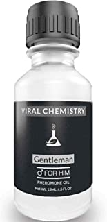 Pheromones 男士酚醛树脂 Cologne 油 [吸引女性] - AllureGeek 粗体、*的人体物理* - 15mL 浓缩剂(人性级酚醛树脂可吸引女性)