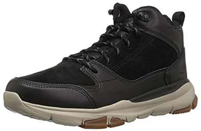 Skechers 斯凯奇 MENS USA系列 男 绑带时尚运动休闲鞋 65731-BLK 黑色 43 (US 10)