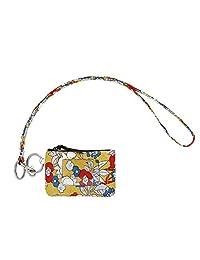 带挂绳的拉链 ID 保护套,时尚挂绳钱包,ID 保护套钱包带挂绳 P