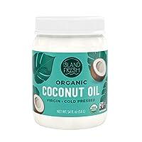 Island Fresh Superior Organic Virgin Coconut Oil, 54 Ounce 美國農業部認證椰子油 1.6 L 美國直郵 包郵包稅