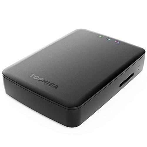 Toshiba 东芝 无线移动硬盘 1T WIFI高速USB3.0 安卓苹果手机平板扩容
