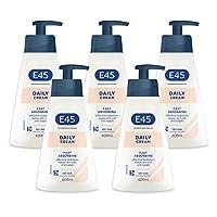 E45 日常保湿霜,400毫升,5件,共2升