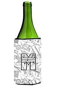 字母 L 音乐笔记字母高大男孩饮料隔热器 Hugger CJ2007-LTBC