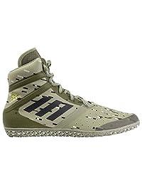 adidas 冲击橄榄色数码摔跤鞋 ac7494)