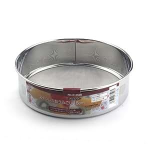 PEARL LIFE 日本珍珠生活 进口不锈钢面粉筛 筛子 蛋糕面包用筛子(18cm)D-3506