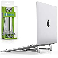 steklo?–?x-stand 適用于 MacBook 和 PC 筆記本電腦,鋁可調節 / 便攜,散熱通用支架適用于尺碼30.5?- 43.2?cm 屏幕