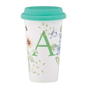 Lenox 蝴蝶草原热旅行杯,A 马克杯 A 12 盎司 848481