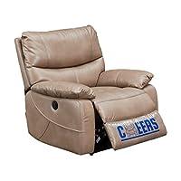 芝华仕 头等舱沙发 功能沙发 现代单人沙发 小户型布艺沙发9780浅褐色(标价仅为商品价格,如需运送/安装,请咨询客服具体费用。咨询电话:400-688-9099 QQ:648538692/3478725759)(亚马逊自营商品, 由供应商配送)