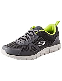Skechers 男式轨道牛津鞋