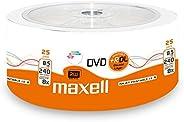 Maxell 276078 DVD+R 8.5GB DL 双层,8X 速度,8.5Gb,25个骰子,可打印