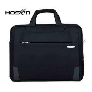Hosen 苹果联想三星笔记本电脑包14寸15.6寸13.3寸高档单肩包男手提包女 时尚棕