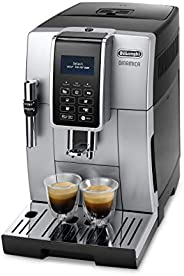 De 'longhi Dinamica ECAM 350.35 .SB 全自动咖啡机 (Digi taldi splay, Profi - aufschaeum 喷嘴, 的饮料上按钮 bruehg 群, 2 -