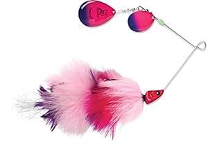 Blue Fox Super BOU Spinnerbait 粉色紫色渔具,8,粉色/紫色