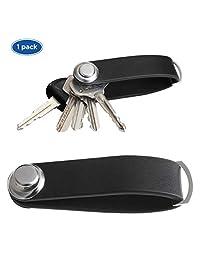 口袋钥匙收纳盒 - * 意大利真皮智能家居钥匙盒和钥匙折叠夹,适用于小型钥匙整理、乔迁礼物和钥匙圈夹