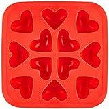 Fairly Odd 新奇心形弹性冰块 红色 均码 FON-10003