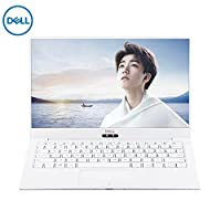 戴尔 DELL XPS13-9370-R1605G 13.3英寸超轻薄窄边框笔记本电脑 (四核i5-8250U 8G 256G SSD FHD 背光键盘 指纹识别 白色硅纤维 WIN10)金色