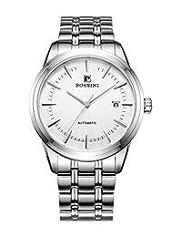 ROSSINI 罗西尼 自动机械男士手表 5665W01A(亚马逊自营商品, 由供应商配送)