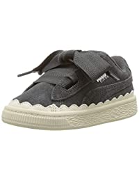 PUMA 彪马儿童麂皮心形橡胶运动鞋